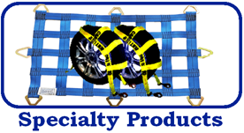 specialty products, wheel tie-downs